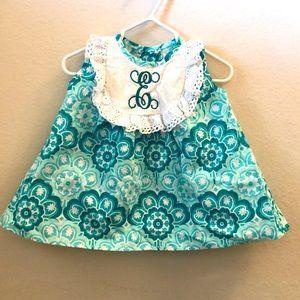 """Monogram """"E"""" Dress"""
